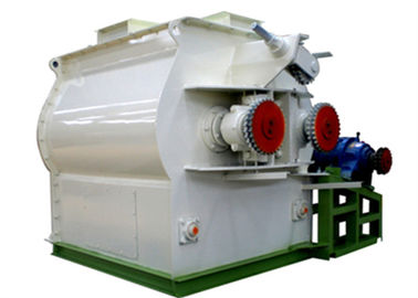 Double Shaft Paddle Poultry Feed Mixer Grinder Machine 1 Year Warranty